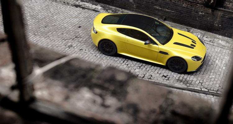 Aston Martin's V12 Vantage