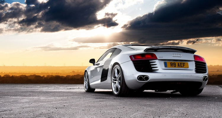 Audi R8 Sports Coupe'